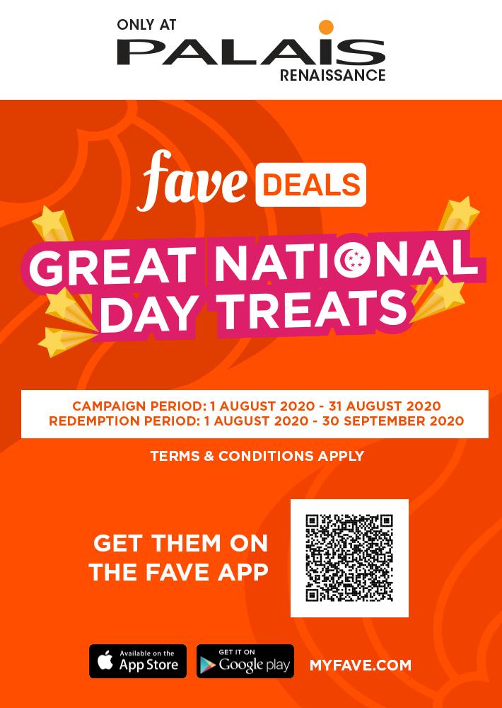 Great National Day Treats
